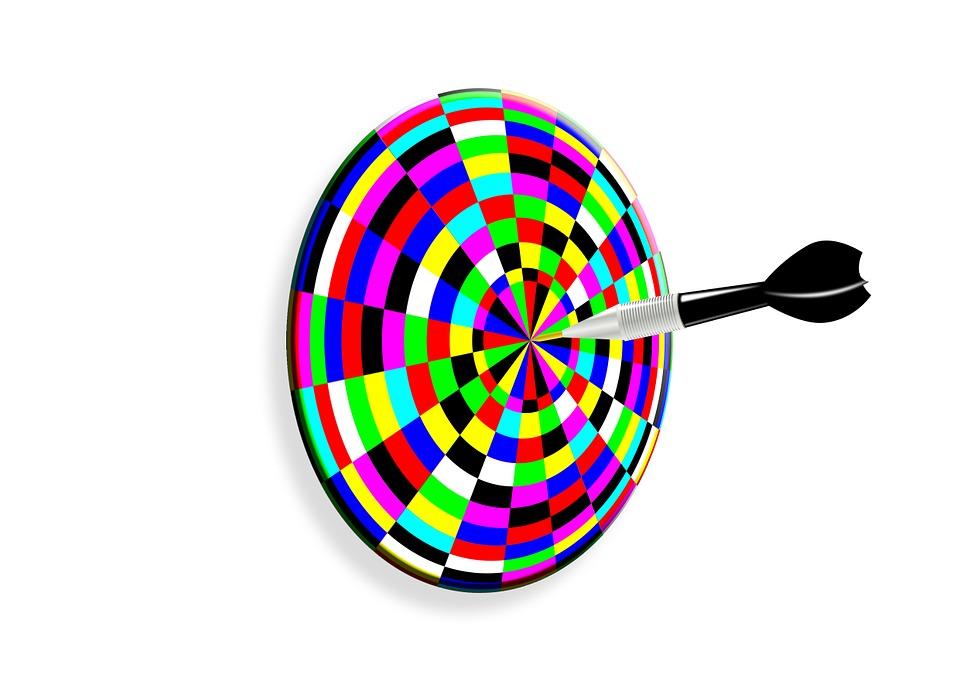 Dart, Disc, Target, Arrow, Middle, Meeting, Center