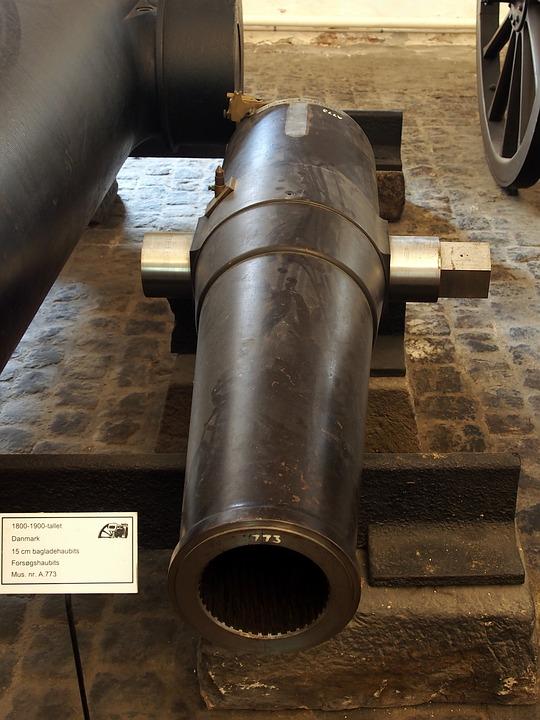 Bronze, Cannon, Royal, Danish, Arsenal, Artillery