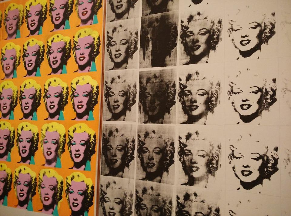 Marilyn Monroe, Andy Warhol, Art, Color