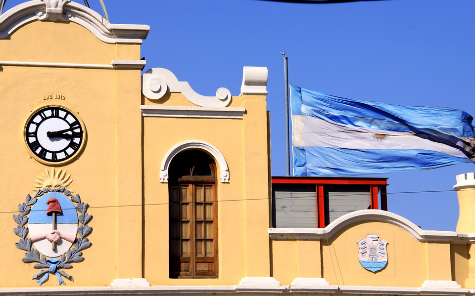 Flag, Argentina, Countries, Architecture, Art, Blue