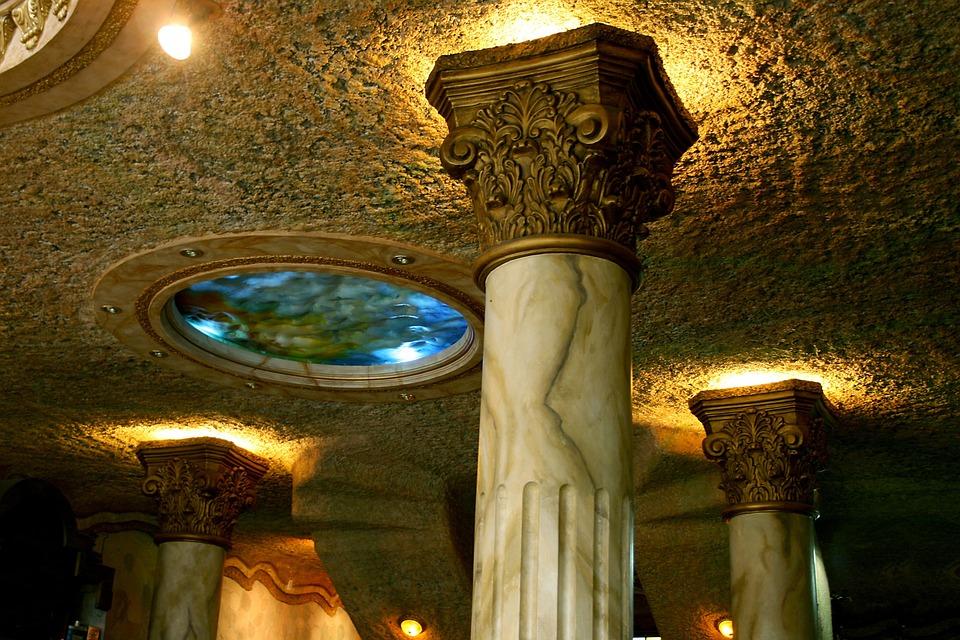 Columns, Pillars, Architecture, Art