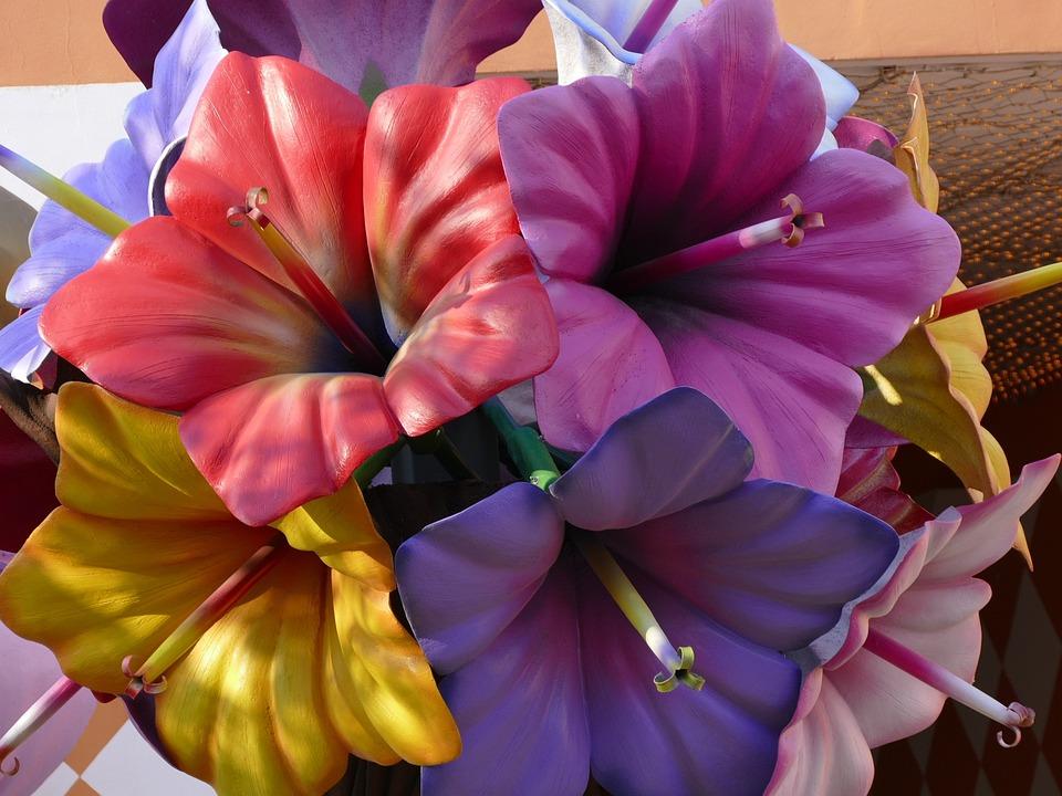 Flowers, Art, Color, Art Flower, Collection, Artificial
