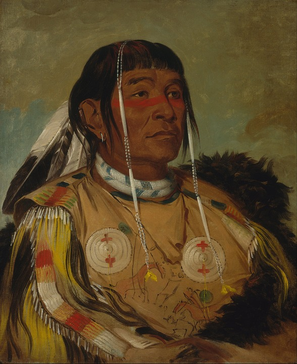 Painting, Art, Artwork, George Catlin, 1831, Sha-co-pay