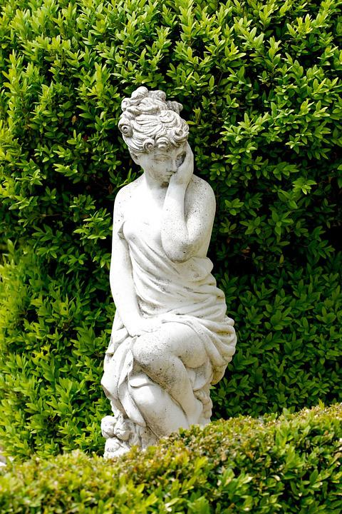 Statue, Woman, Body, Art, Garden Decoration