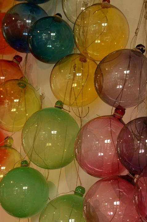 Glass, Art, Ball, Bol
