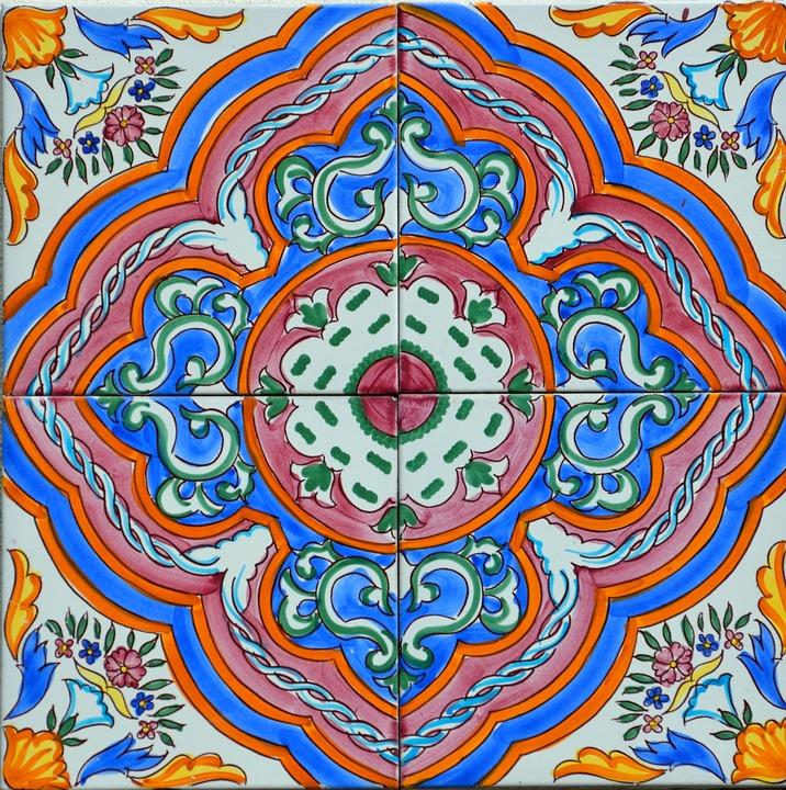 Free Photo Art Ceramics Wall Design Colors Ceramic Tile Max Pixel