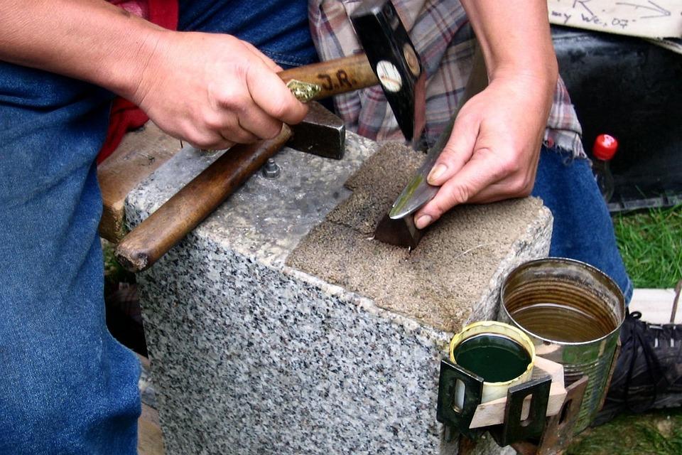 Craft, Art, Hammer, Anvil