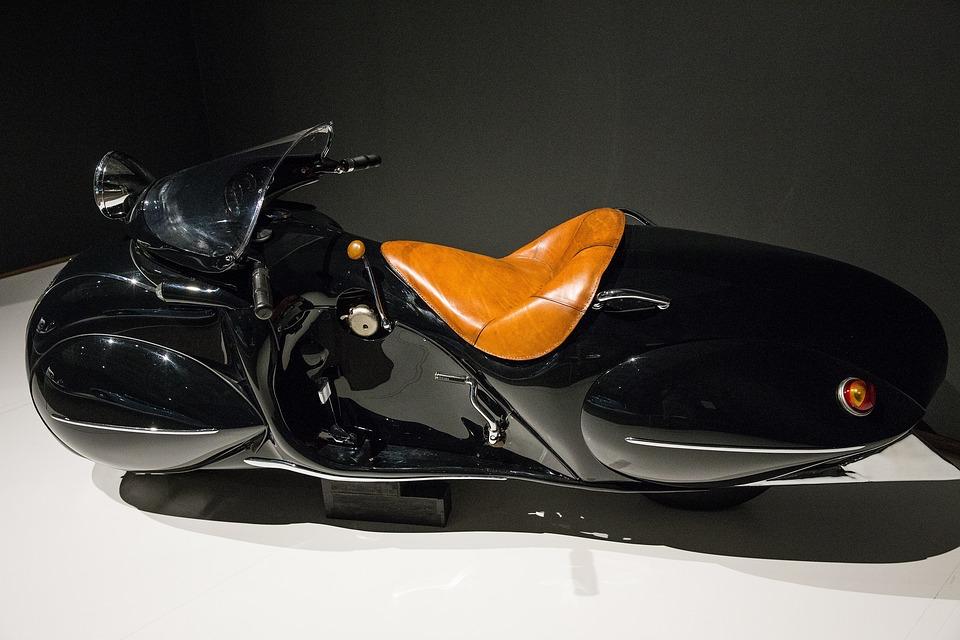 Motorcyle, 1930 Henderson Kj Streamline, Art Deco