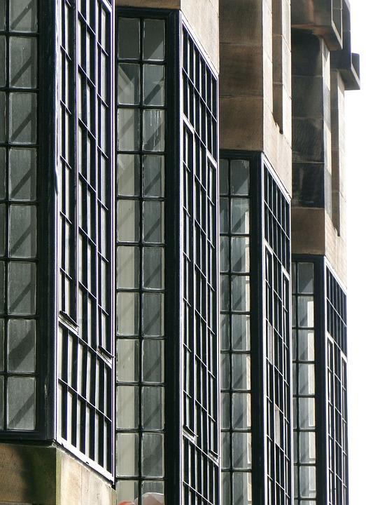 Mackintosh, Architecture, Window, Art Deco, Facade