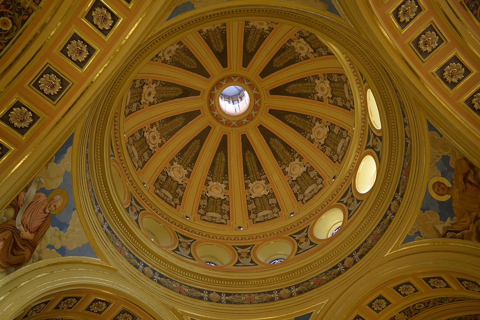 Chapel, Decoration, Architectural, Religion, Art