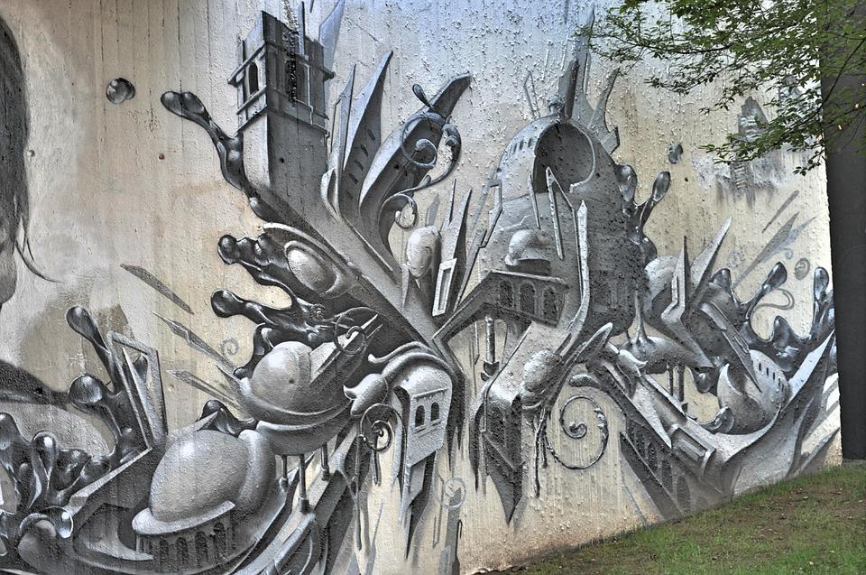 Graffiti, Art, Drawing