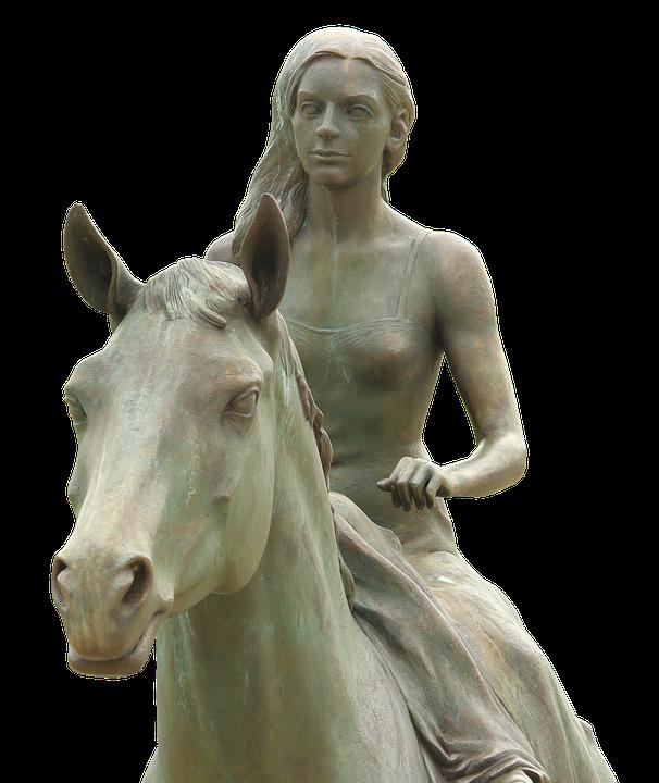 Equestrian Statue, Art, Ludwigslust-parchim, Sculpture