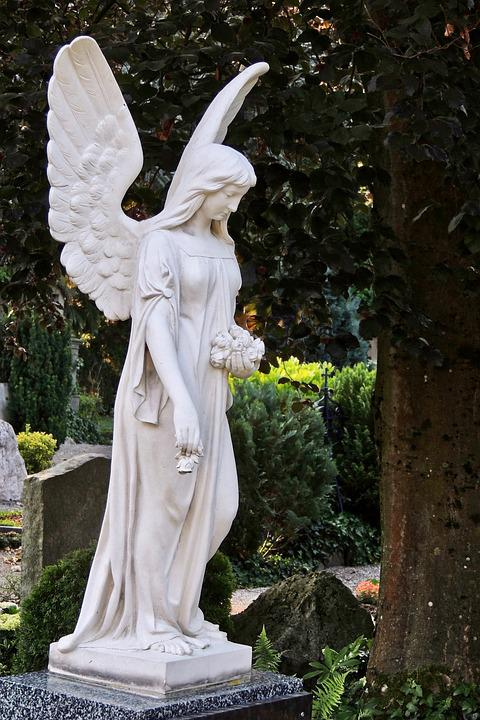 Angel, Grave Of Angels, Figure, Wing, Art, Spiritual