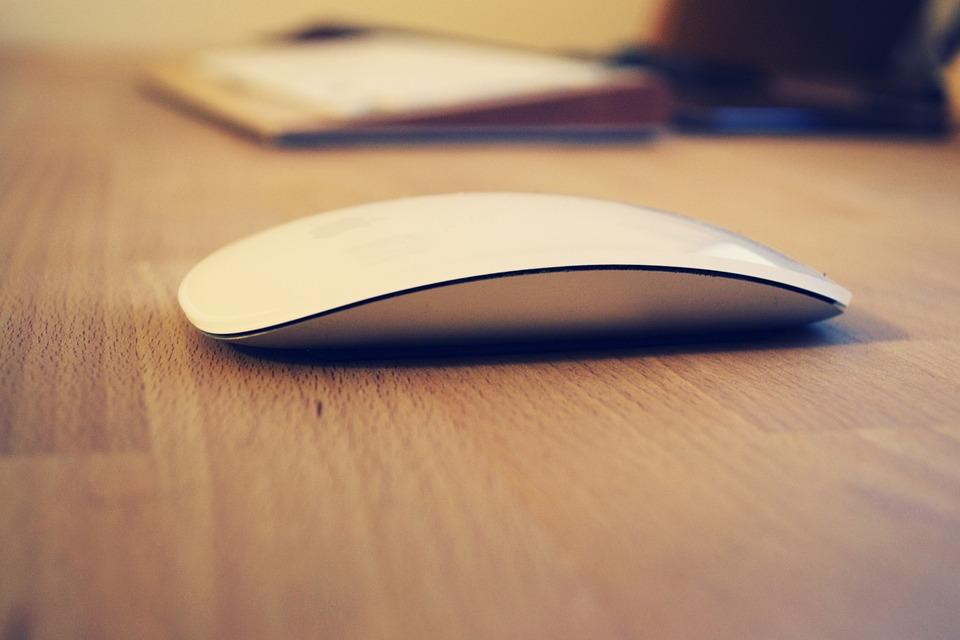 Mouse, Apple Inc, Design, Flat, Abstract, Light, Art