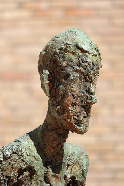 Sculpture, Bronze, Man, Art, Museum, Fondation Maeght