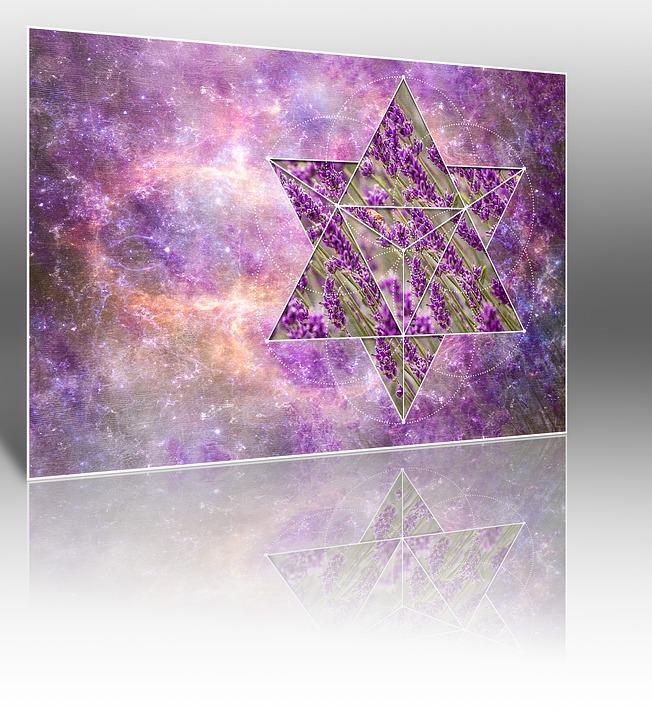 Geometry, Mirroring, Paper, Artistically, Art