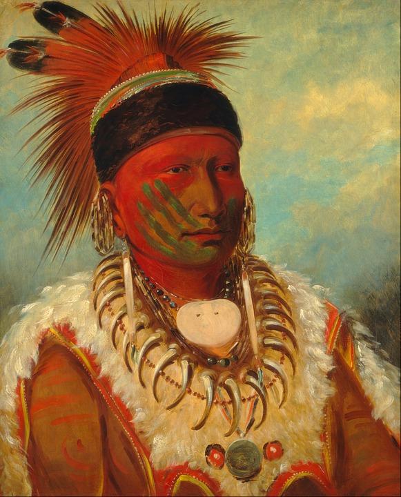Painting, Artwork, Art, George Catlin, 1831