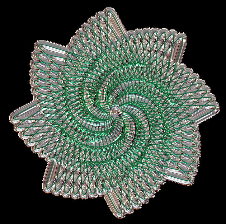 Mandala, Turned, Metallizer, Art, Glass, Factory
