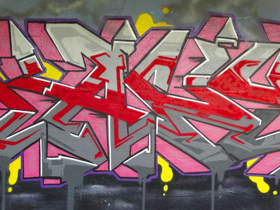 Graffiti, Color, Colorful, Decorative, Spray, Art