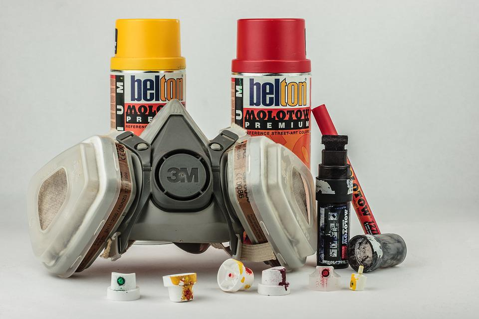 Spray Cans, Spray, Graffiti, Grafitti, Art, Creativity