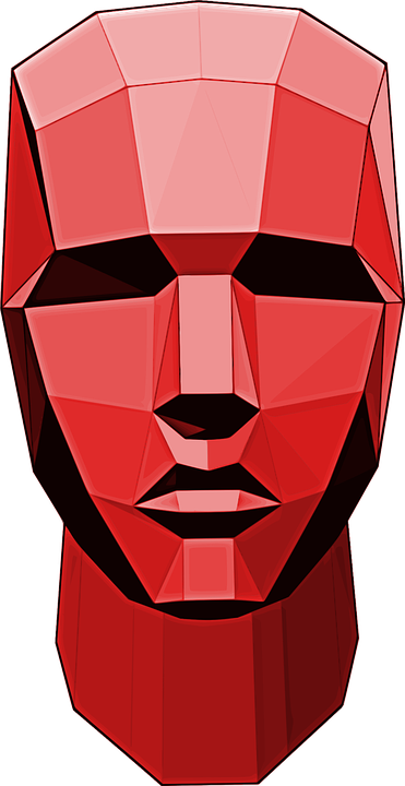 Head, Man, Robot, Abstract, Art, Vectorized, Person