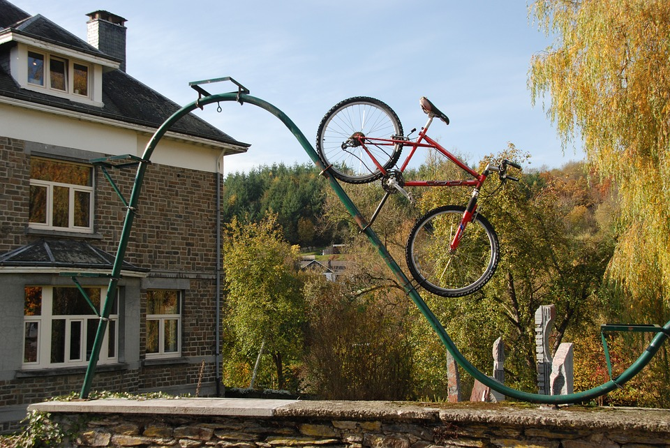 Bicycle, Image, Art, Work Of Art, Decoration