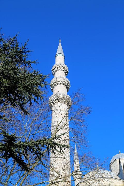 Minaret, Cami, Architecture, Art, City, Islam, Istanbul