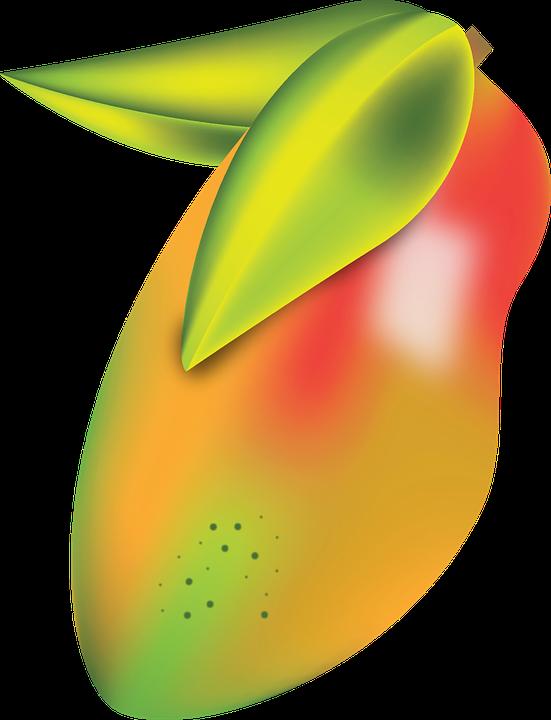 Fruit, Mango, Art, Summer, Logo