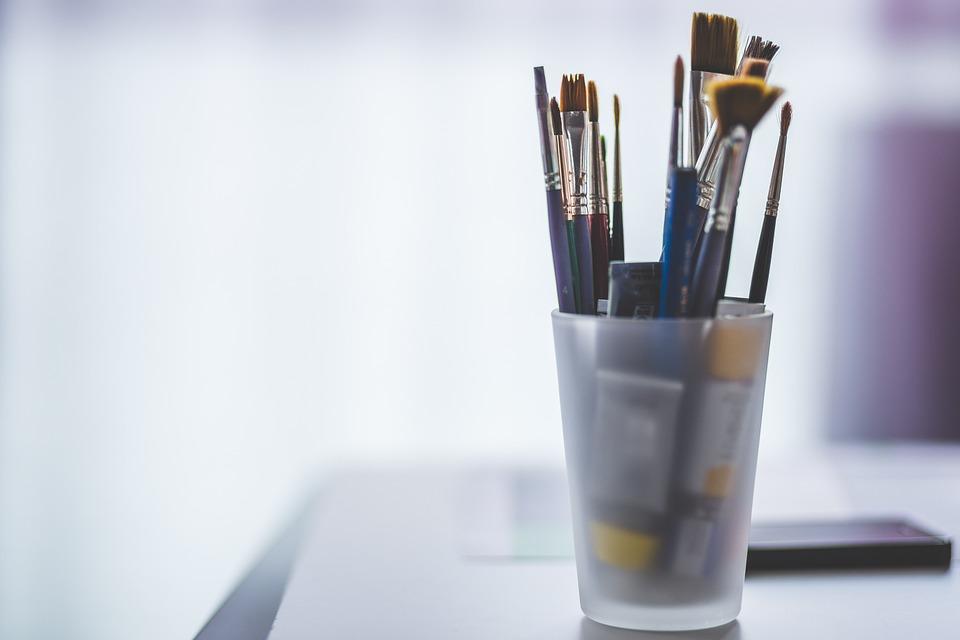 Art Materials, Blur, Container, Equipment, Oil Paint