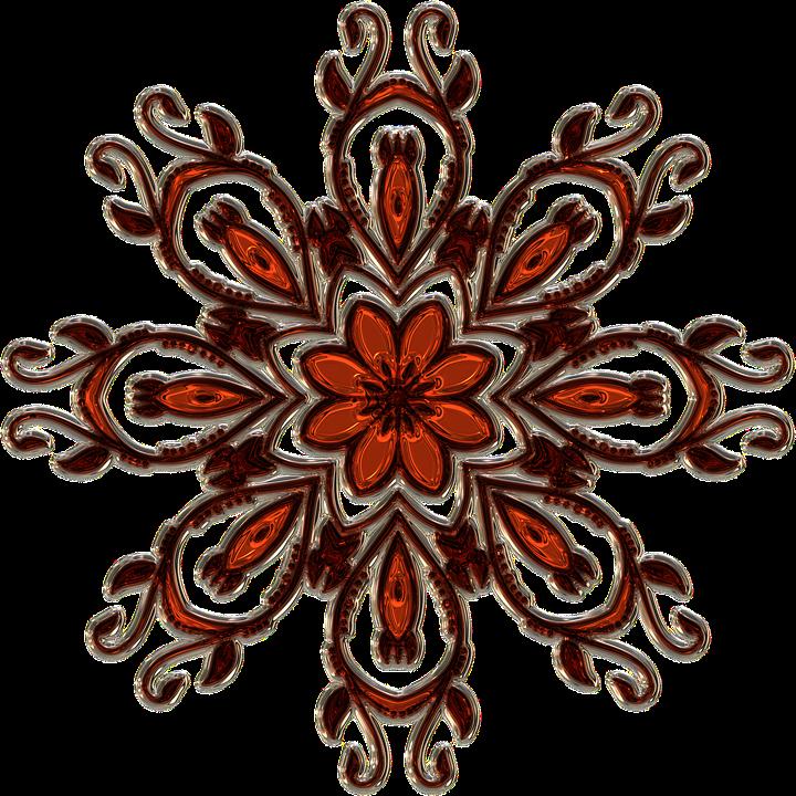 Mandala, Filigree, Metallizer, Art, Glass, Factory
