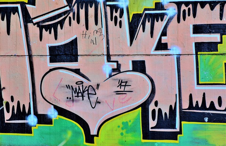 Graffiti, Mural, Art, Street Art, Modern Art, Artwork
