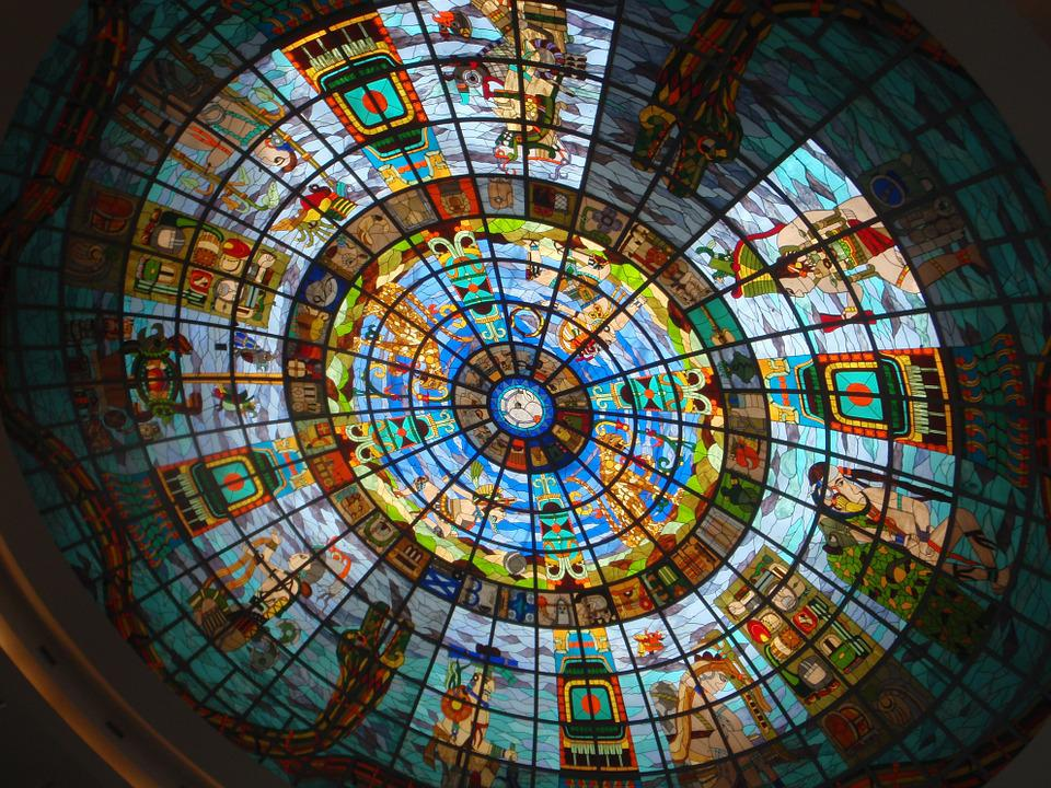 Stained Glass Window, Society, Art, Mosaic