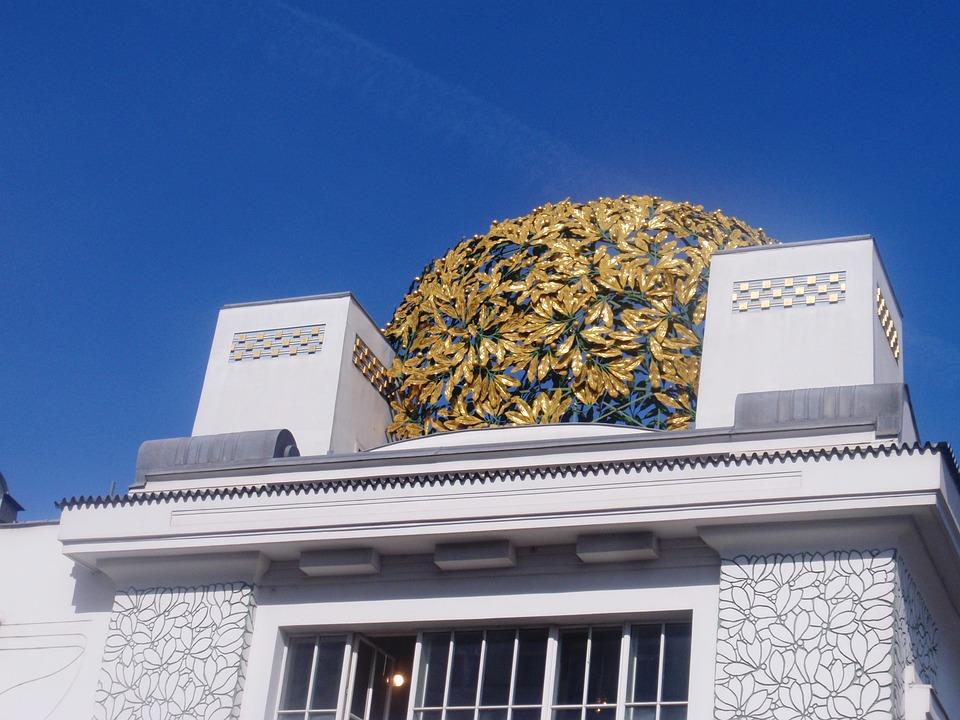 Art Nouveau Architecture Building Door Frieze