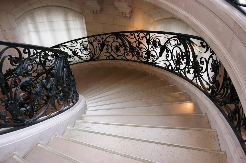 Staircase, Art Nouveau, Petit Palais, Paris, France