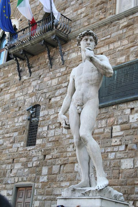 Statue, Florence, Italy, Art, Old