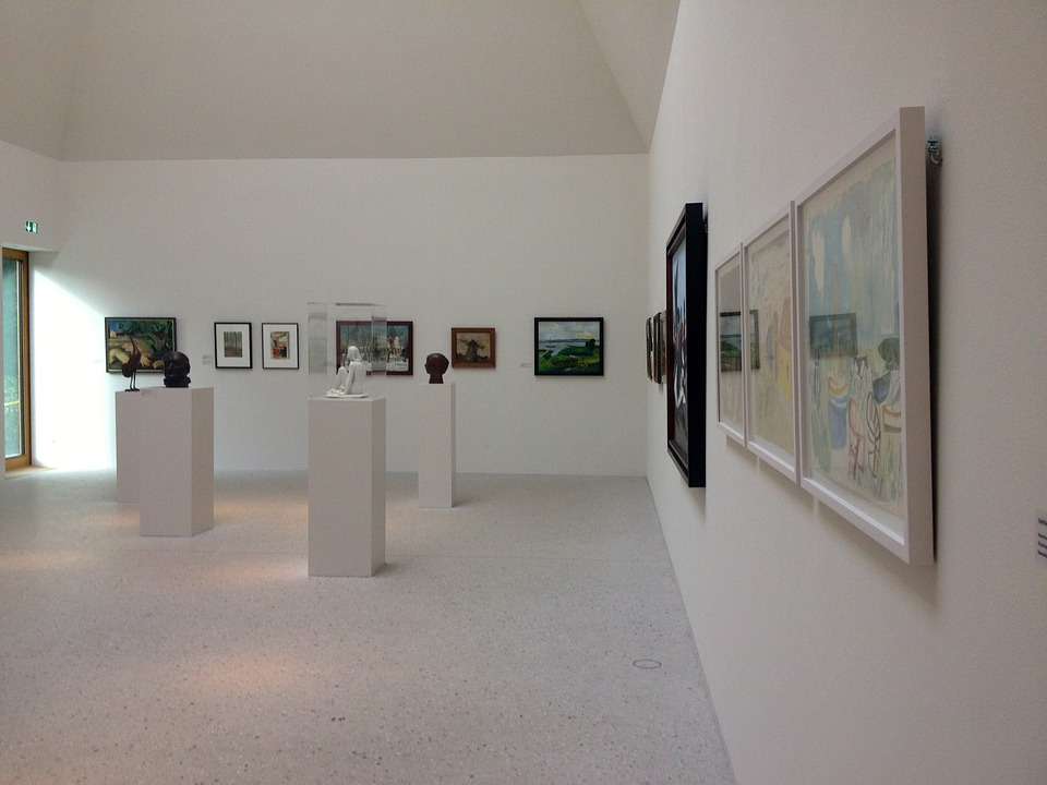 Museum, Gallery, Art, Painting, Exhibition, Artists
