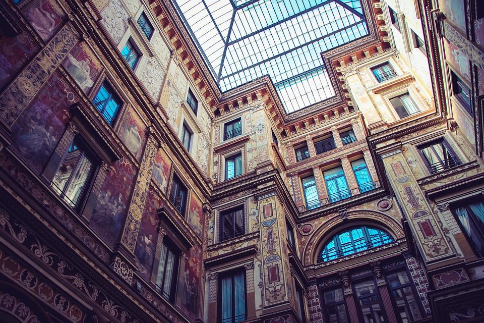 Architecture, Art, Building, Perspective, Historic