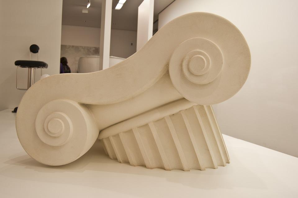 Pillar, Doric Column, Art, Architecture, Building