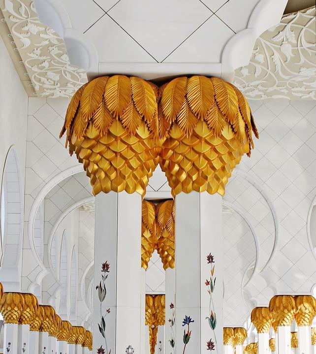 Decoration, Gold, Traditional, Religion, Art