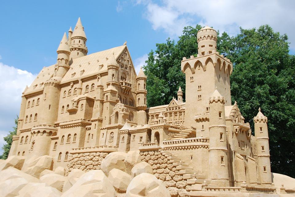 Sand, Sculpture, Art, Sand Castle