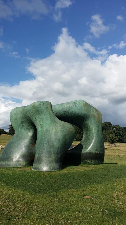 Sculpture, Art, Statue, Landmark, England, Iconic
