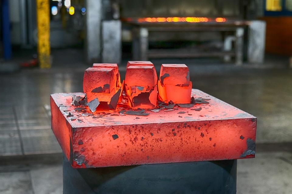Steel, Sculpture, Metal, Art, Glowing, Hot, Forged