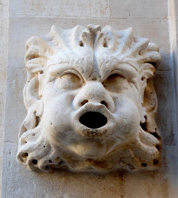 Sculpture, Art, Statue, Face, Old, Ancient, Culture