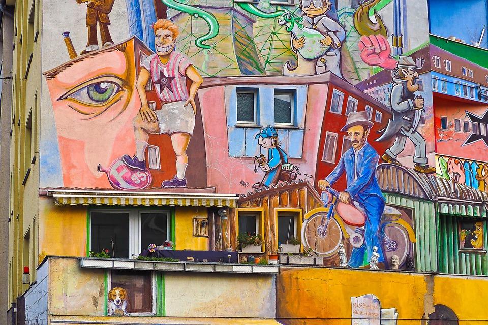 Free Photo Art Spray Wall Painting Graffiti Painting Sprayer Max Pixel