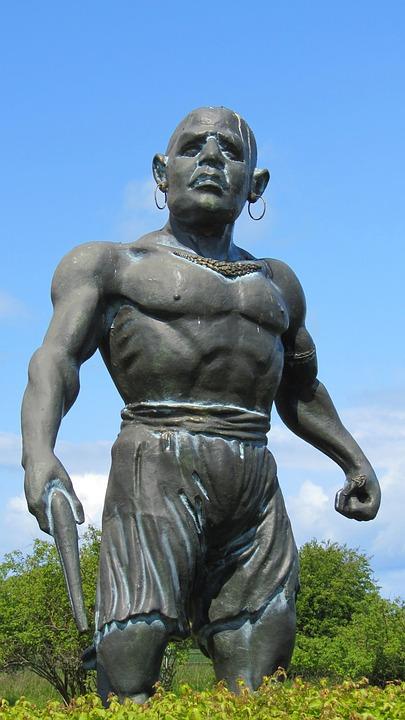 Fehmarn, Pirate, Puttgarden, Statue, Art, Sculpture