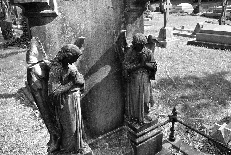 Angels, Carving, Sculpture, Art, Statue, Religion