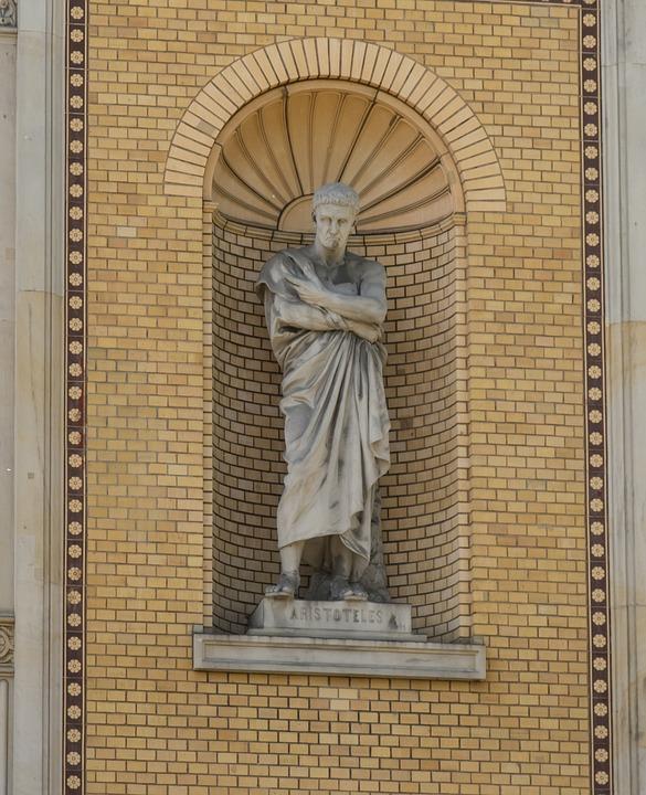 Sculpture, Art, Aristotle, Statue, Stone Figure