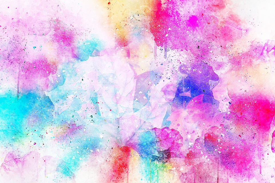 Background, Art, Abstract, Watercolor, Vintage