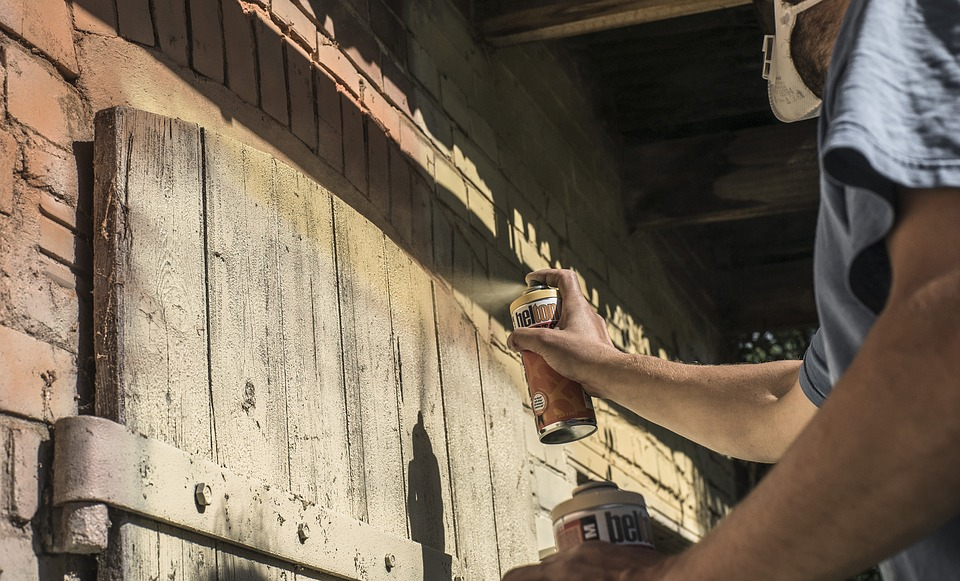 Graffiti, Sprayer, Spray Can, Spray, Art, Wall Painting