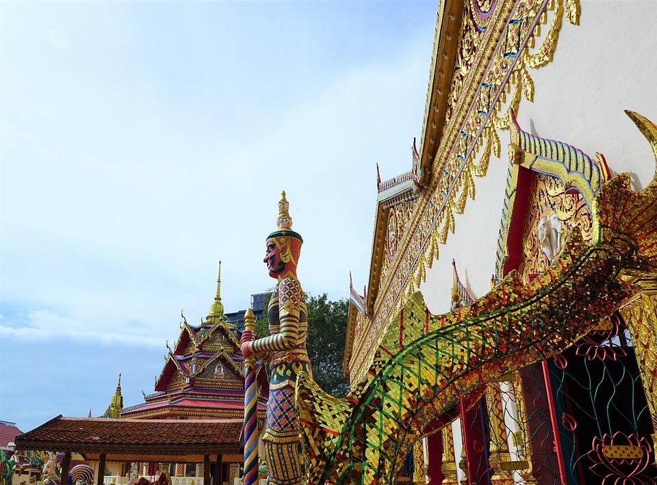 Temple, Travel, Religion, Buddha, Art, Wat